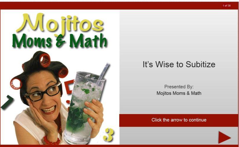 Mojitos Moms and Math